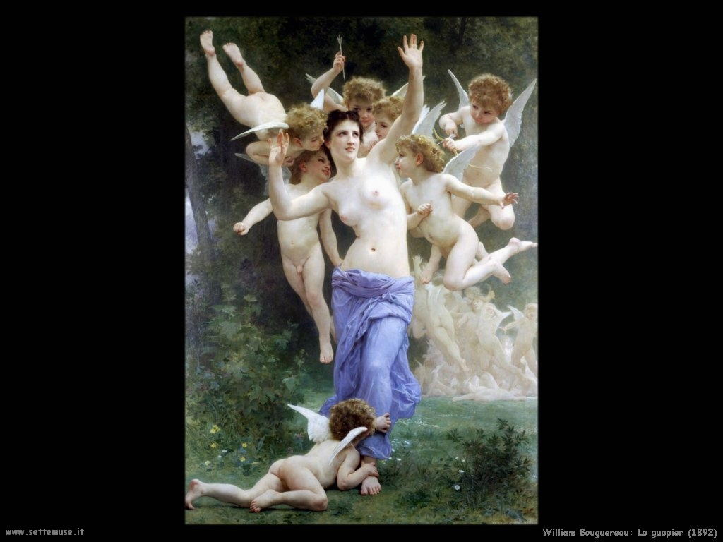 William Bouguereau_le_guepier_1892