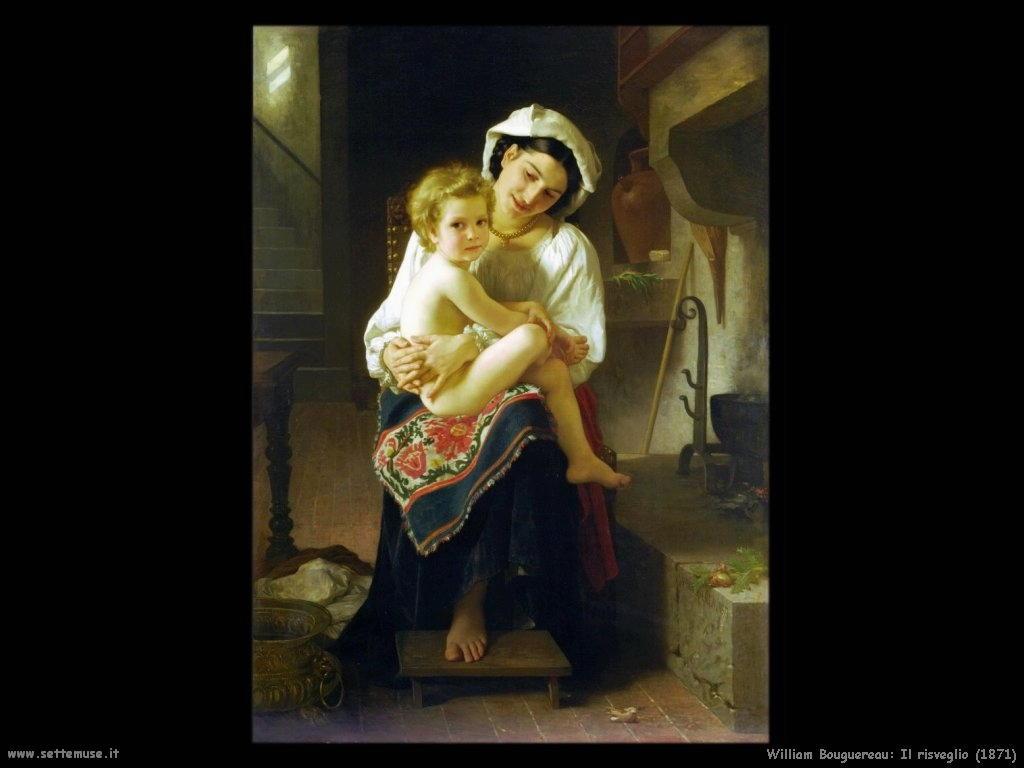 William Bouguereau _il_risveglio_1871