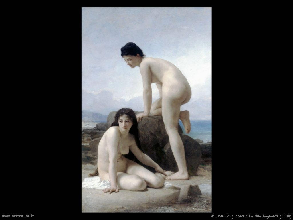 William Bouguereau_le_due_bagnanti_1884