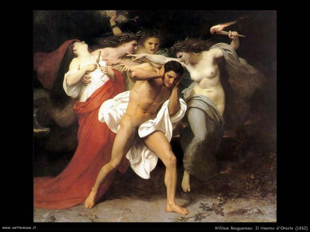 0William Bouguereau_il_rimorso_di_oreste_1862