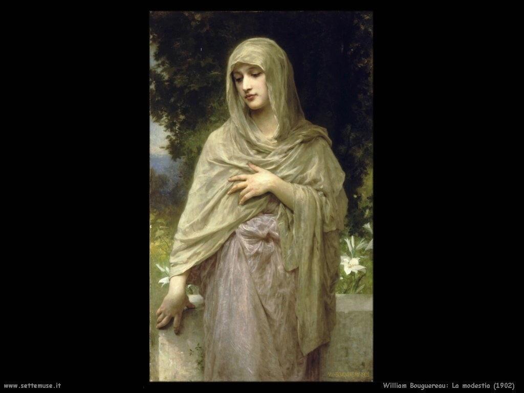 William Bouguereau _la_modestia_1902