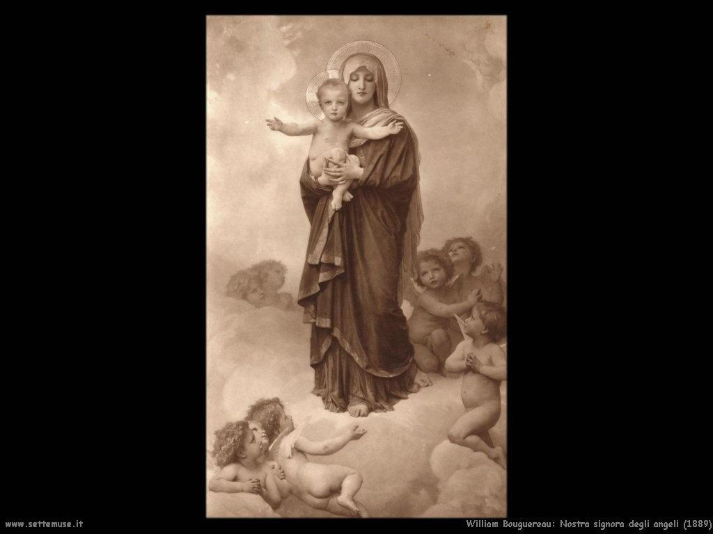 William Bouguereau _nostra_signora_degli_angeli_1889