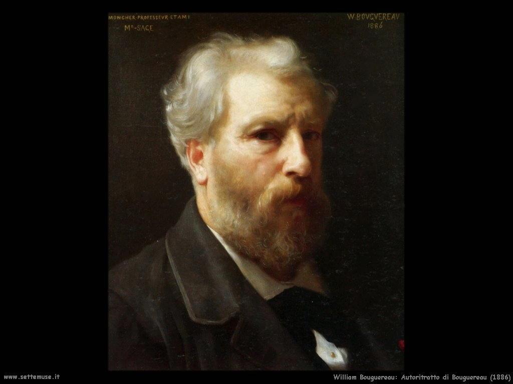 William Bouguereau _autoritratto_di_bouguereau_1886
