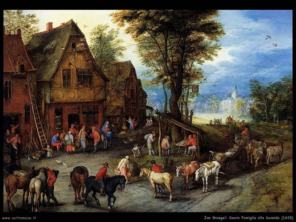 jan_brueghel_sacra_famiglia_alla_locanda_1608