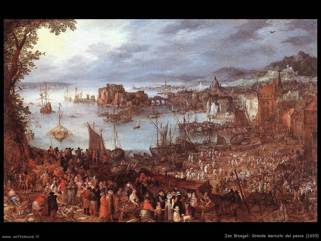 jan_brueghel_grande_mercato_del_pesce_1603