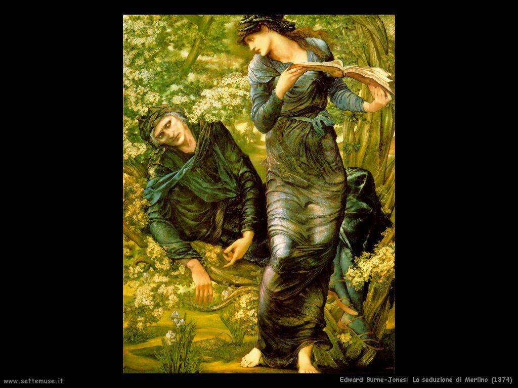 edward_burne_Jones__la_seduzione_di_merlino_1874