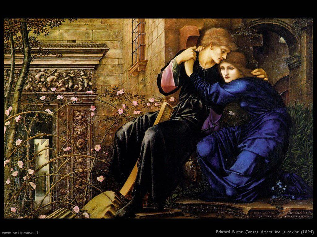 edward_burne_Jones Amore sulle rovine_1894
