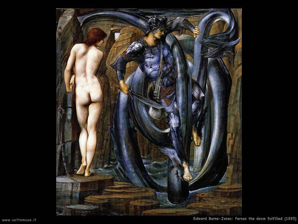 edward_burne_Jones_Perseo il castigo soddisfatte(1885)