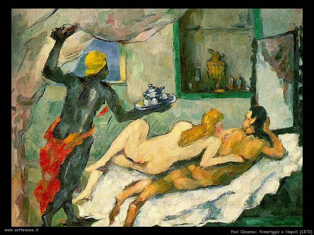 Pomeriggio a Napoli (1872) Paul Cézanne