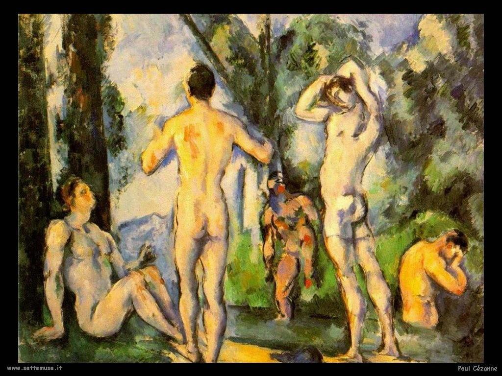 I nudi di Paul Cezanne  Paul Cézanne
