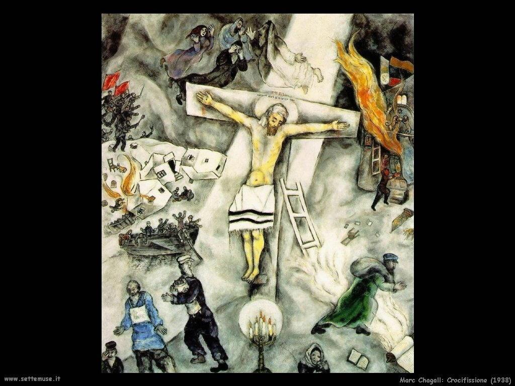 Marc Chagall_crocifissione_1938