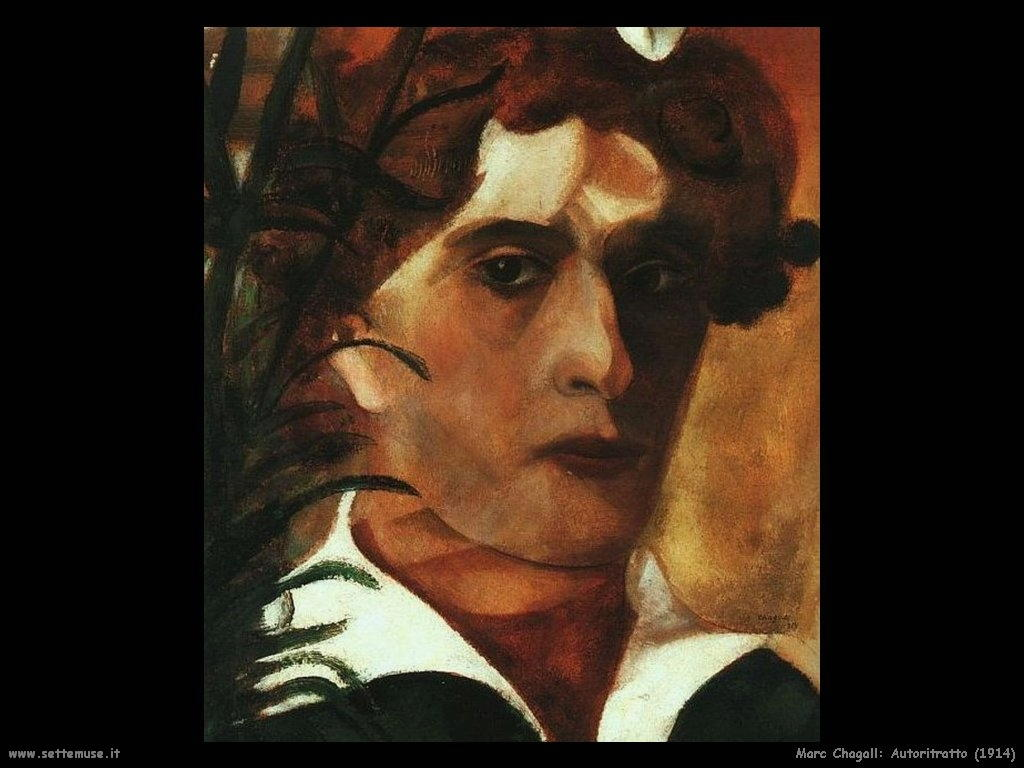 Marc Chagall_autoritratto_1914
