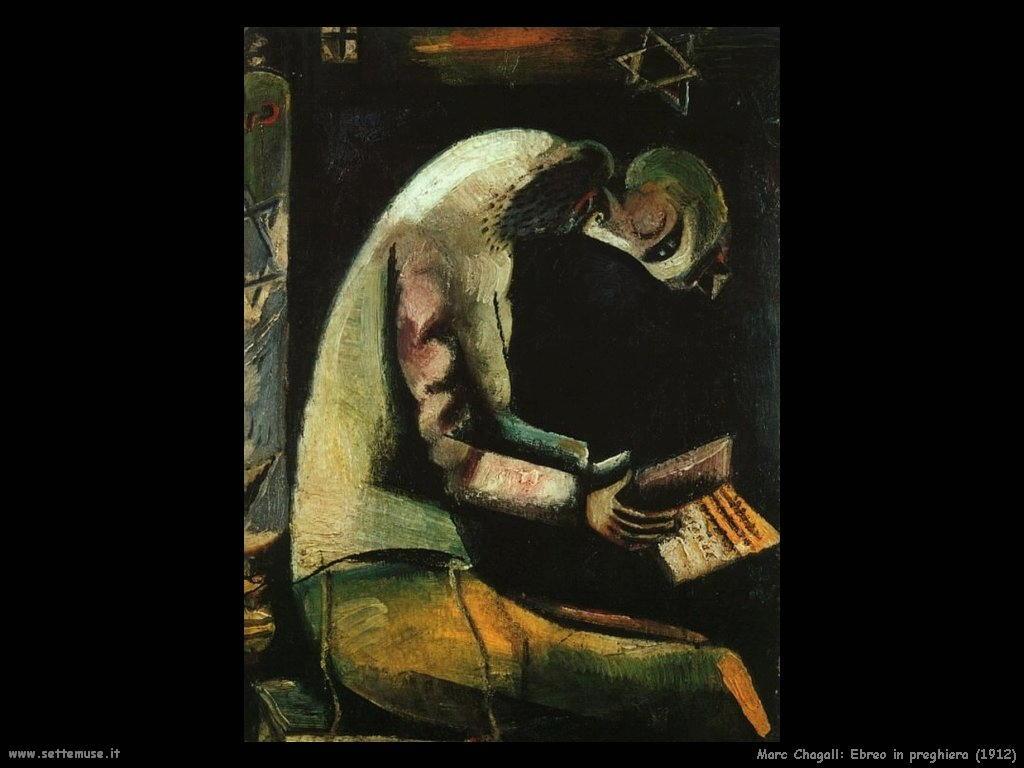 Marc Chagall_ebreo_in_preghiera_1912