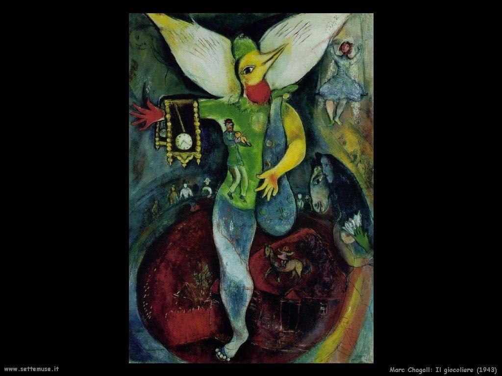 Marc Chagall_giocoliere_1943