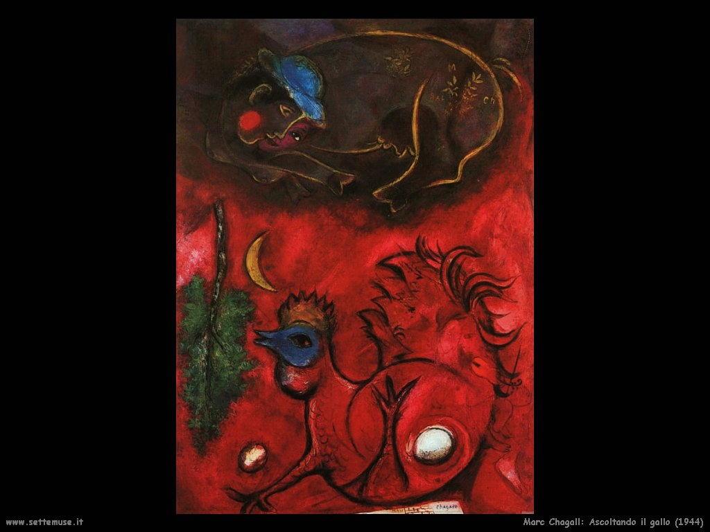 Marc Chagall_ascoltando_il_gallo_1944
