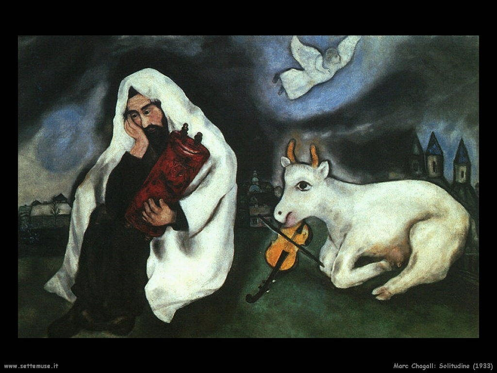 Marc Chagall_solitudine_1933
