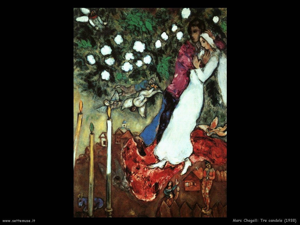 Marc Chagall_tre_candele_1938