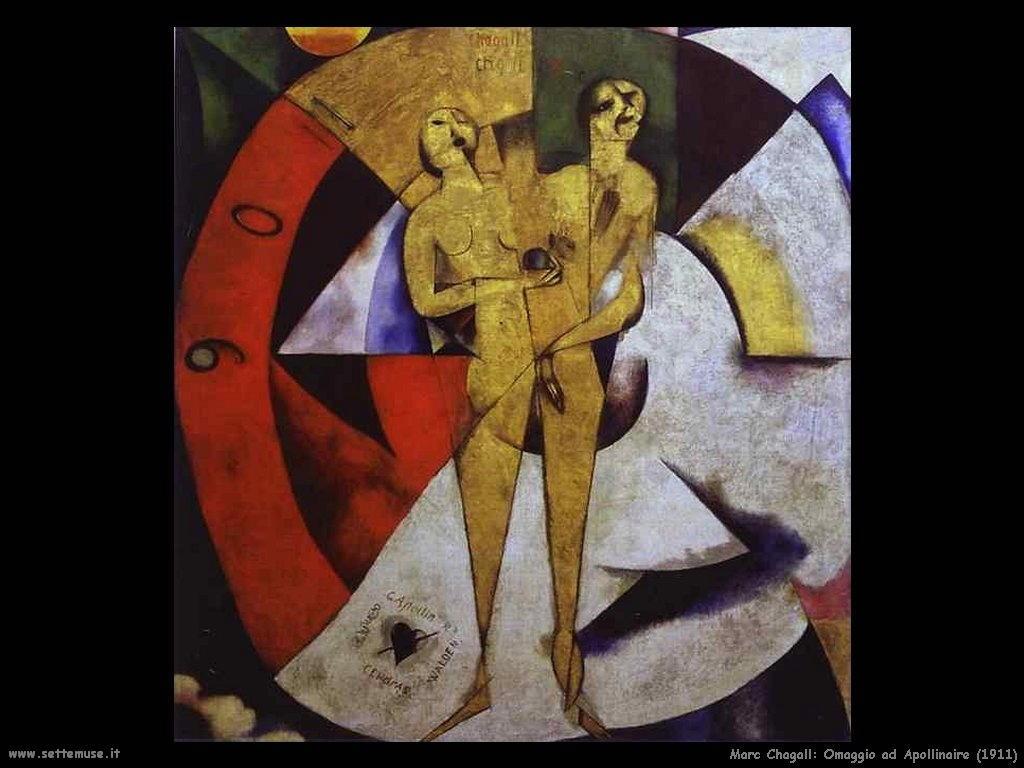 Marc Chagall omaggio ad apollinaire 1911