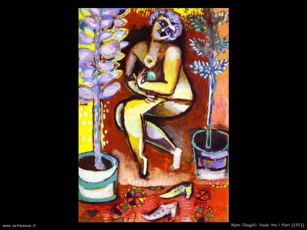 Marc Chagall_nudo_tra_fiori_1911
