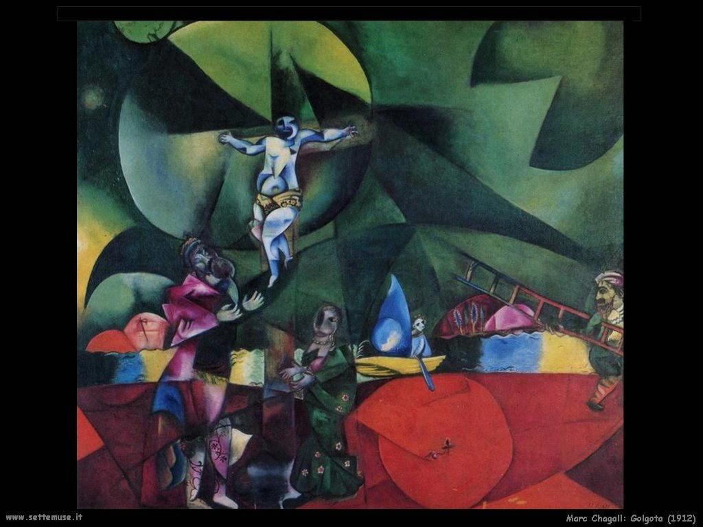 Marc Chagall_golgota_1912