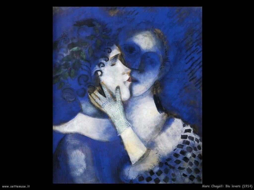 Marc Chagall_blu_lovers_1914