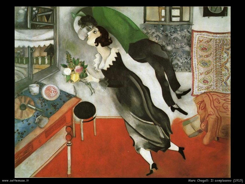 Marc Chagall_il_compleanno_1915