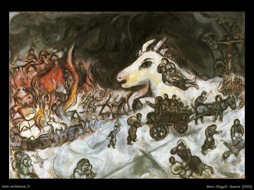 Marc Chagall_guerra_1964