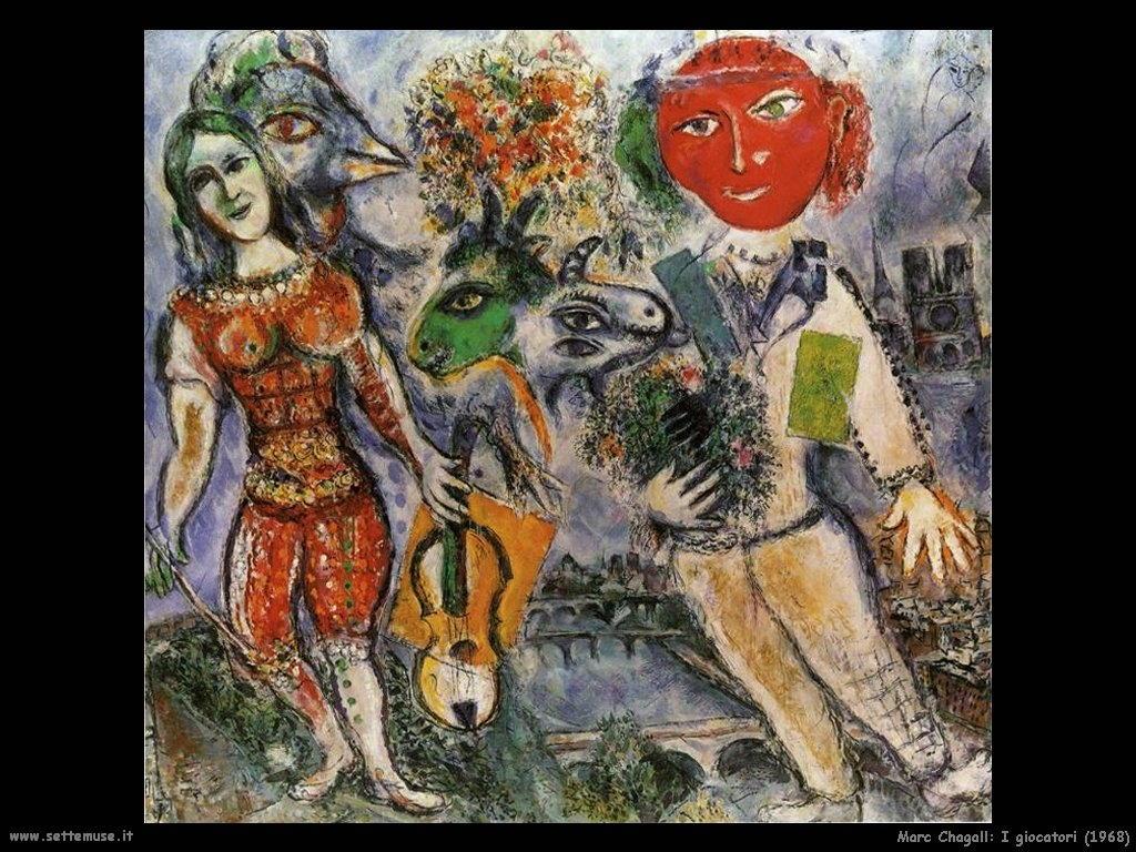 Marc Chagall_i_giocatori_1968