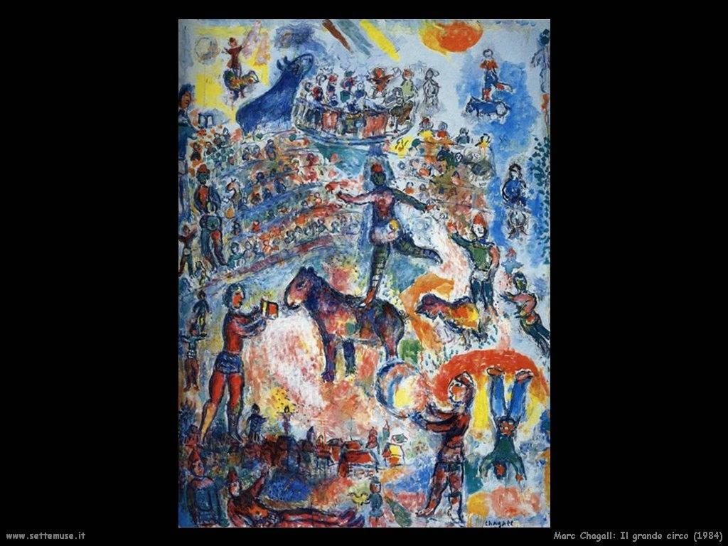 Marc Chagall_il_grande_circo_1984