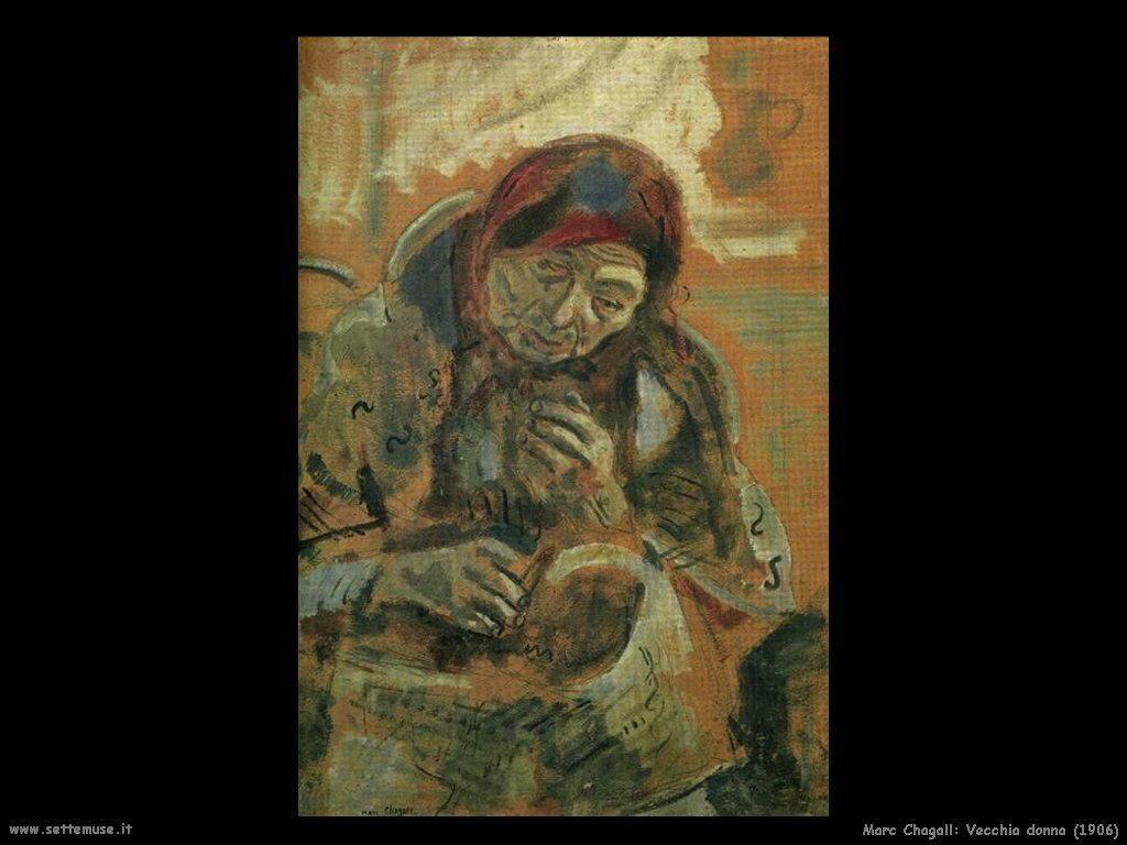 Marc Chagall_vecchia_donna_1906