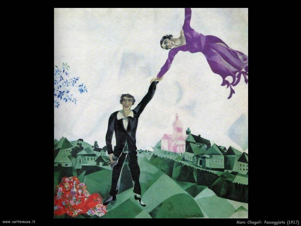 Marc Chagall_passeggiata_1917
