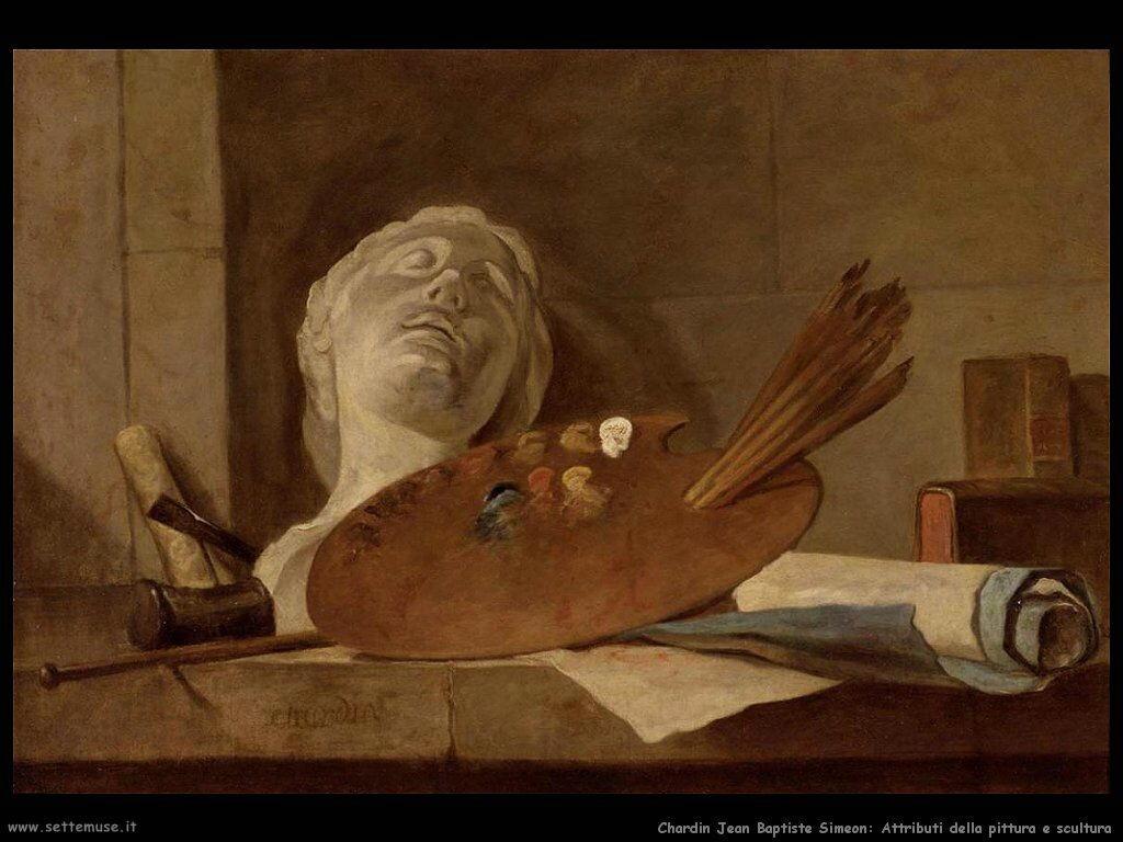 Attributi della pittura e scultura