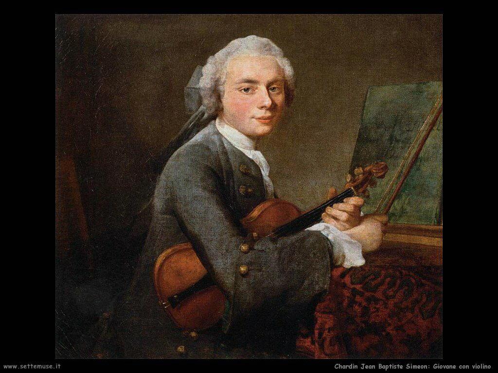 Giovane con violino
