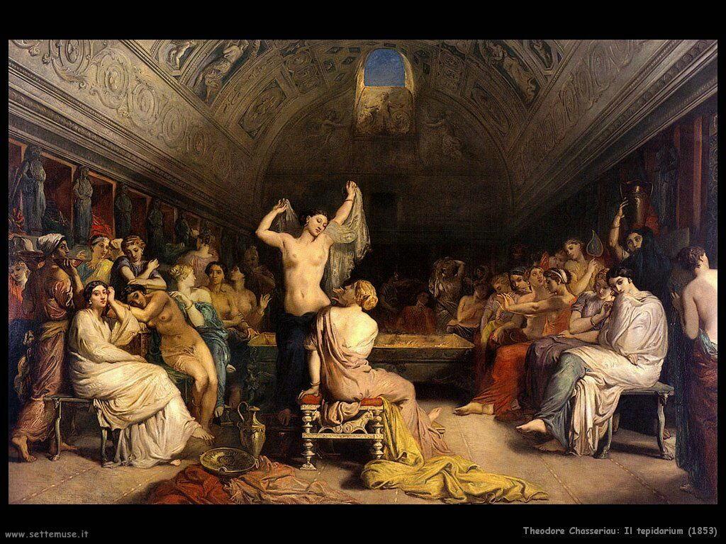 theodore_chasseriau_il_tepidarium_1853