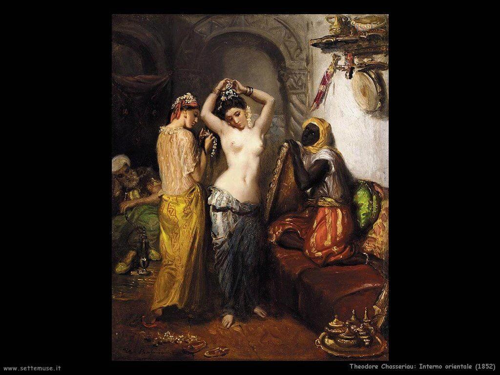 theodore_chasseriau_interno_orientale_1852