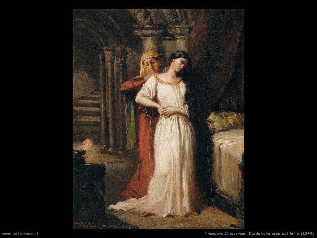 theodore chasseriau desdemona_esce_dal_letto_1849