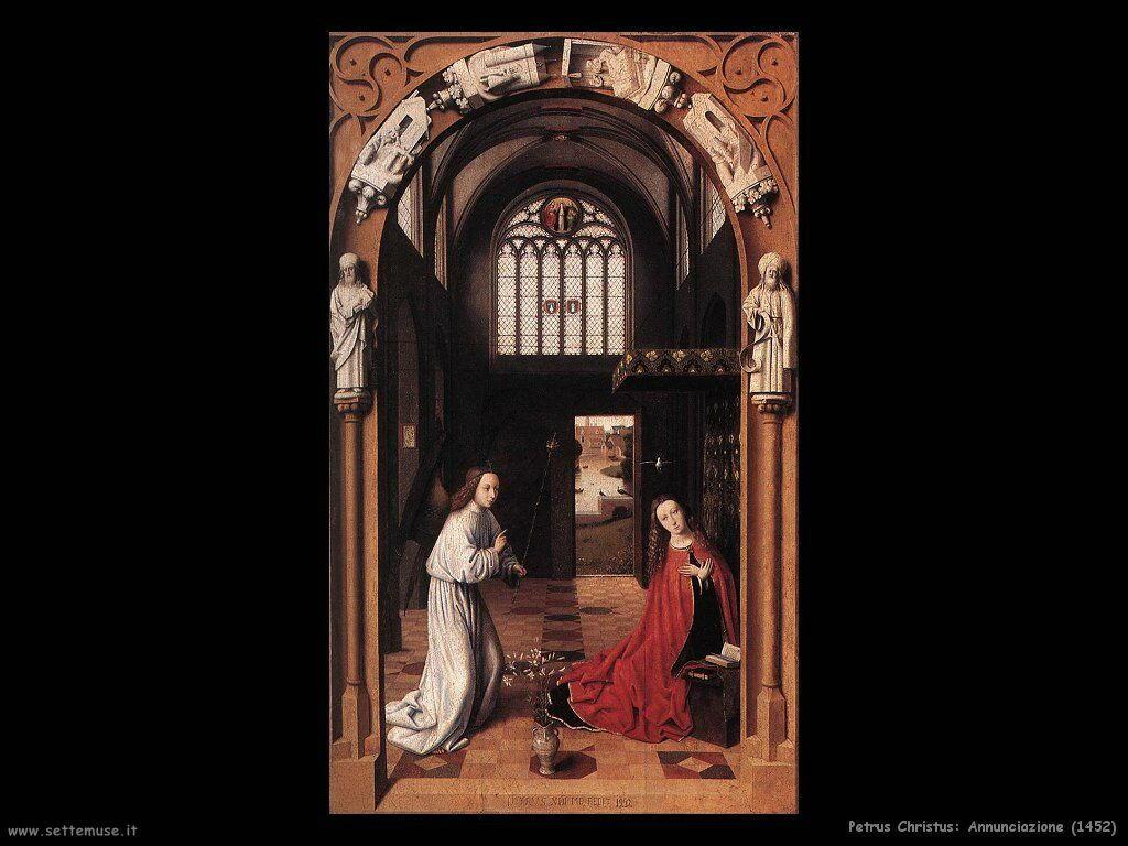 petrus christus annunciazione_1452