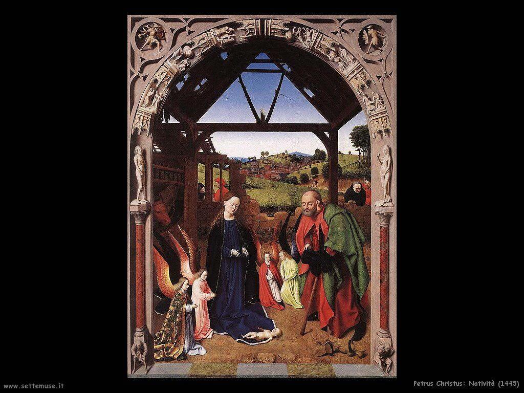 petrus christus nativita_1445
