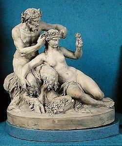 Statua di Clodion alias Michel Clodin
