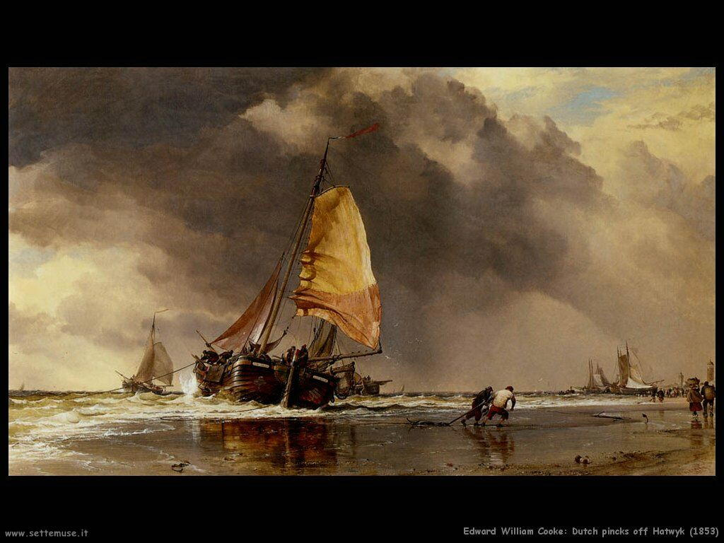 edward_william_cooke_Olandese rosa off Hatwyk (1853)