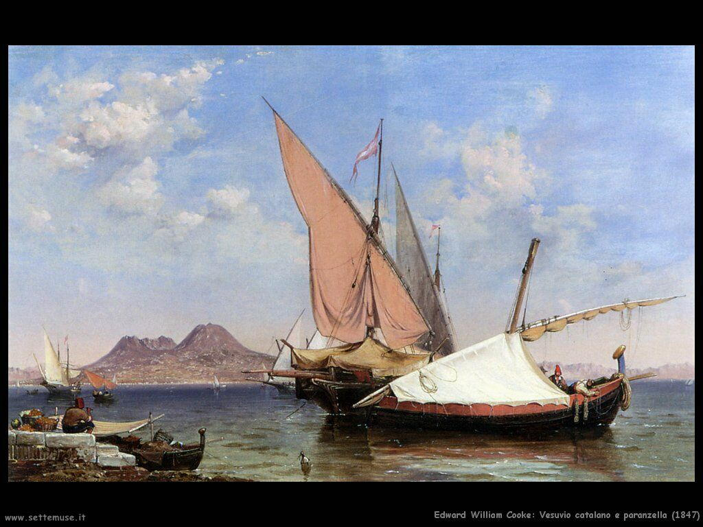 edward_william_cooke_vesuvio_catalano_e_paranzella_1847