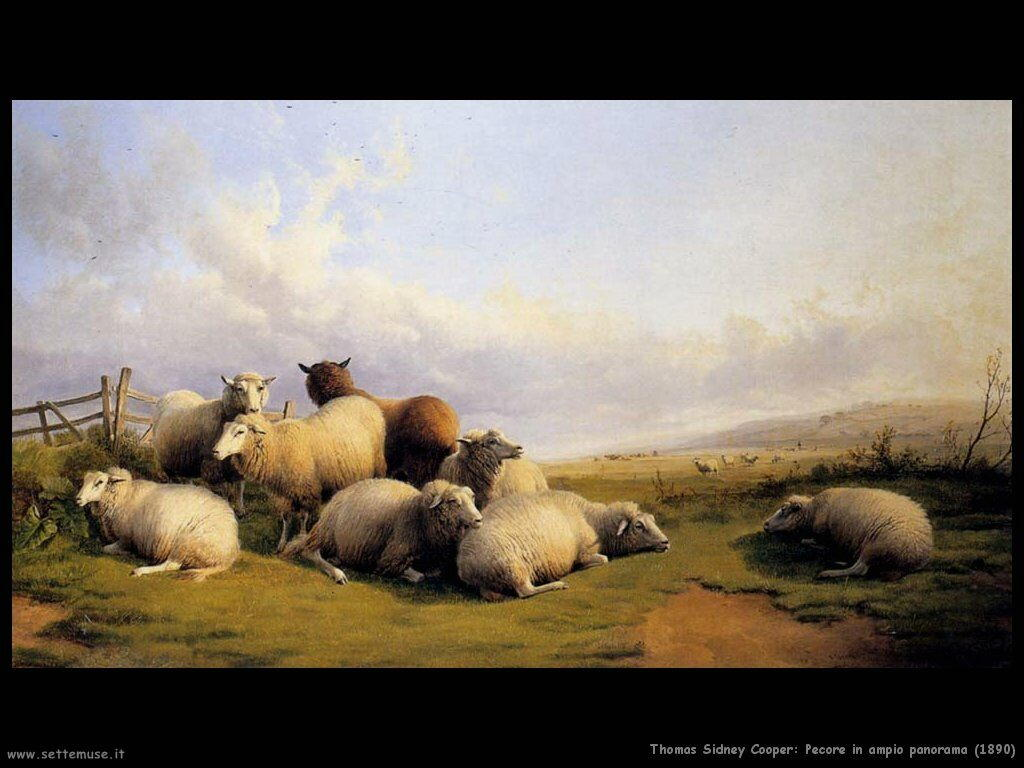 thomas_sidney_cooper_pecore_in_ampio_panorama_1890