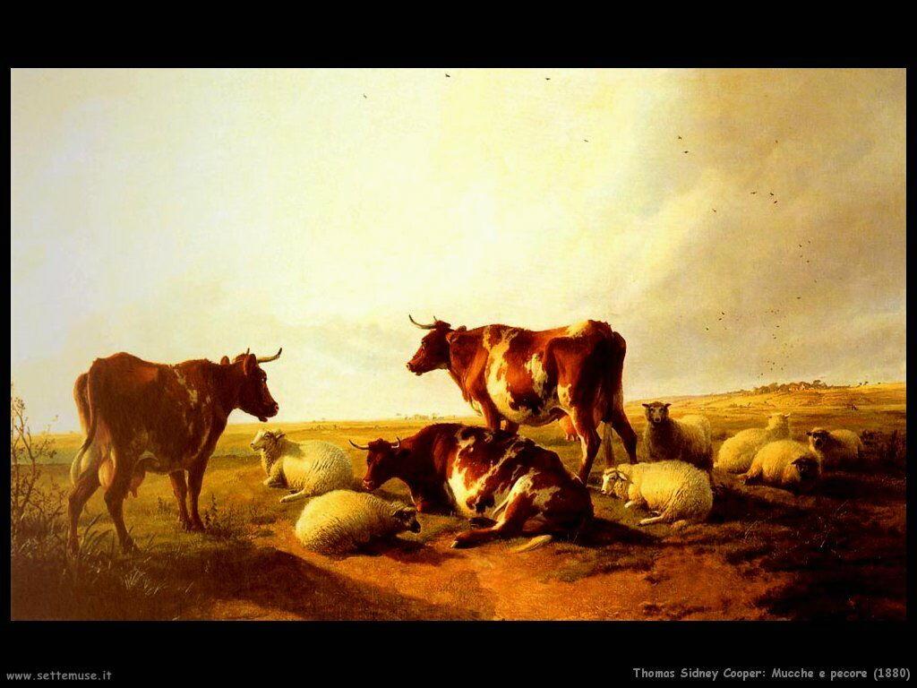 thomas sidney cooper mucche_e_pecore_1880