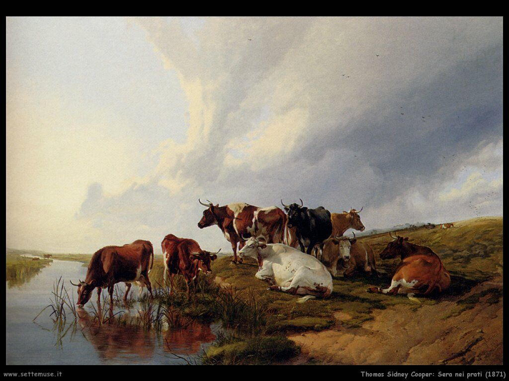thomas_sidney_cooper_sera_nei_prati_1871