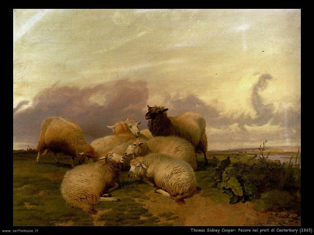 thomas_sidney_cooper_pecore_nei_prati_di_canterbury_1865