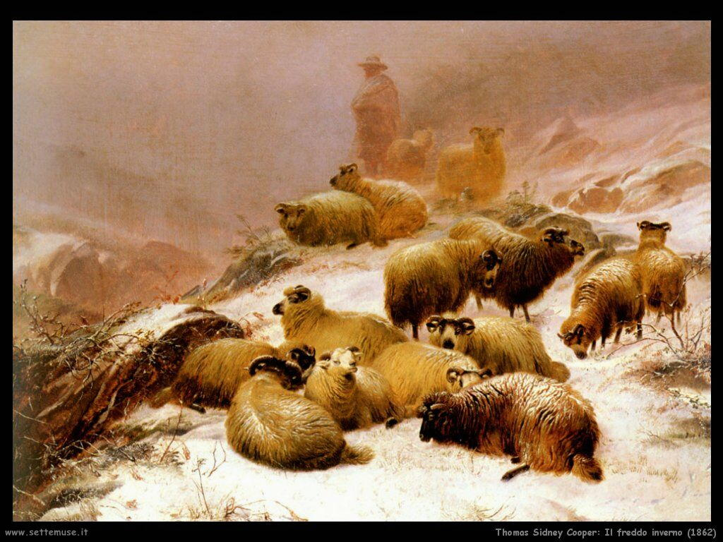 thomas_sidney_cooper_il_freddo_inverno_1862