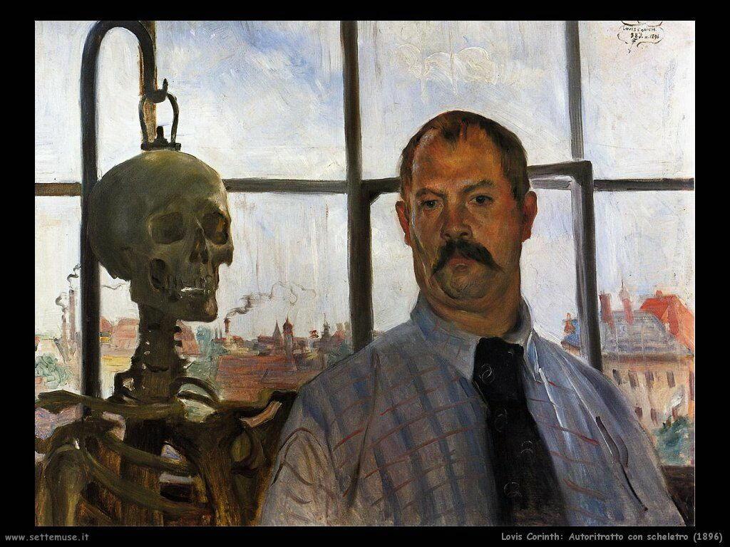 lovis_corinth_autoritratto_con_scheletro_1896