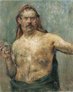 Ritratto di Lovis Corinth
