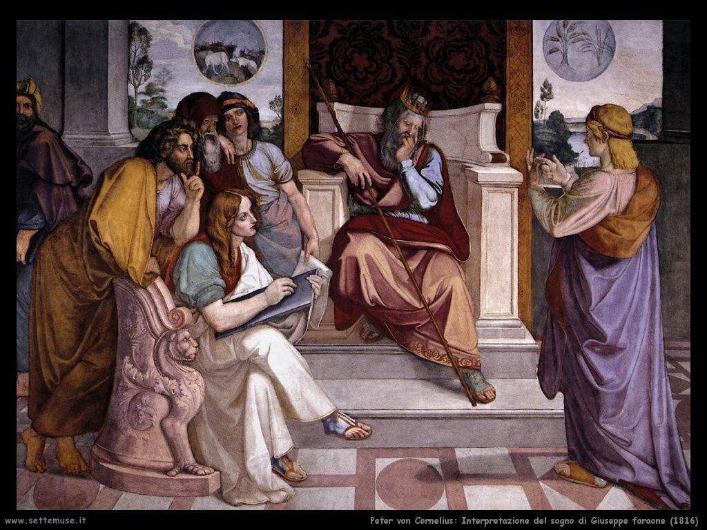 peter_von_cornelius_interpretazione_del_sogno_di_giuseppe_faraone_1816