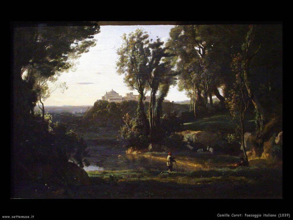camille_corot_paesaggio_italiano_1839